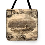 RICE PLANTATION, 1866 Tote Bag by Granger