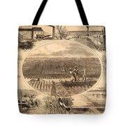 Rice Plantation, 1866 Tote Bag by Granger