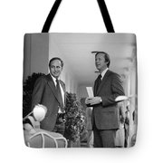 RICHARD CHENEY (1941- ) Tote Bag by Granger