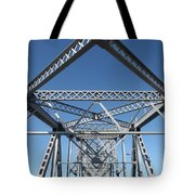 Richmond-san Rafael Bridge In California - 5d19549 Tote Bag by Wingsdomain Art and Photography