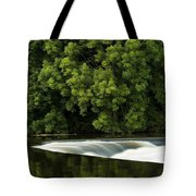 River Boyne, County Meath, Ireland Tote Bag by Peter McCabe