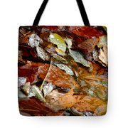 River Leaves Tote Bag by LeeAnn McLaneGoetz McLaneGoetzStudioLLCcom