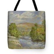 River Spey - Kinrara Tote Bag by Tim Scott Bolton