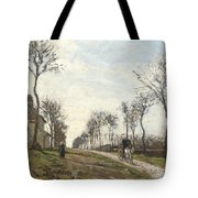 Road in Louveciennes Tote Bag by Camille Pissarro