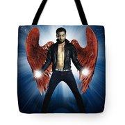 Rock Star Tote Bag by Setsiri Silapasuwanchai