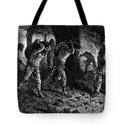 Roman Slavery: Coal Mine Tote Bag by Granger