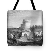 Rome: Appian Way, 1833 Tote Bag by Granger