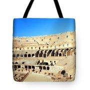 Rome Coliseum Tote Bag by Valentino Visentini