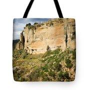 Ronda Rock In Andalusia Tote Bag by Artur Bogacki