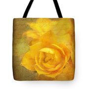 Roses for Remembrance Tote Bag by Judi Bagwell