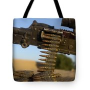 Rounds Of A M240 Machine Gun Tote Bag by Stocktrek Images