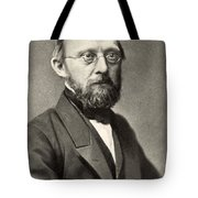 Rudolph Virchow, German Polymath Tote Bag by Photo Researchers