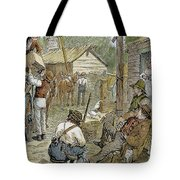 Rural Coach Stop, 1842 Tote Bag by Granger
