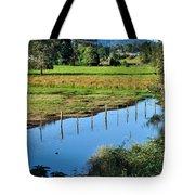 Rural Landscape After Rain Tote Bag by Kaye Menner