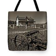 Rural Ontario Sepia Tote Bag by Steve Harrington