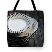 Rural Plates Tote Bag by Joana Kruse