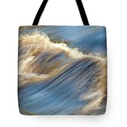 Rushing Waters Tote Bag by Carolyn Marshall