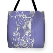 Rustic Clown Tote Bag by Melany Sarafis