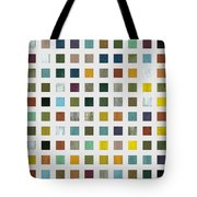 Rustic Wooden Abstract V Tote Bag by Michelle Calkins