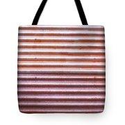 Rusty Metal Tote Bag by Tom Gowanlock