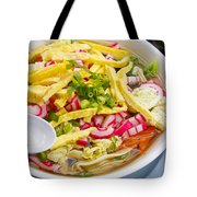 Saimin Bowl Tote Bag by Ron Dahlquist