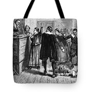 Salem Witch Trials, 1692-93 Tote Bag by Photo Researchers
