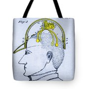 Saluting Device Tote Bag by Science Source