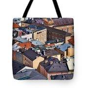 Salzburg's Roofs Austria Europe Tote Bag by Sabine Jacobs