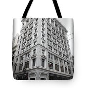 San Francisco Shreve and Company on Grant Street - 5D17918 Tote Bag by Wingsdomain Art and Photography
