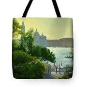 San Giorgio - Venice  Tote Bag by Timothy Easton