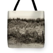 Sand Dune In Sepia Tote Bag by Bill Cannon