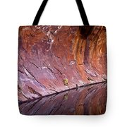 Sandstone Reality Tote Bag by Mike  Dawson