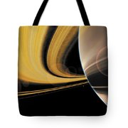 Saturn Glory Tote Bag by Don Dixon