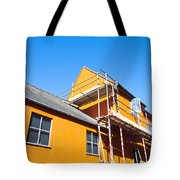 Scaffolding Tote Bag by Tom Gowanlock