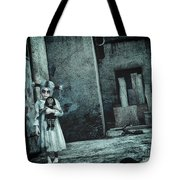 Scary Place Tote Bag by Jutta Maria Pusl