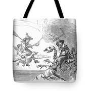 Science Vs. Mother Goose Tote Bag by Granger