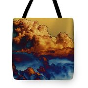 Sea And Sky Tote Bag by One Rude Dawg Orcutt
