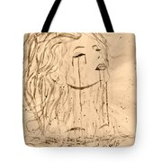 Sea Woman 2 Tote Bag by Georgeta  Blanaru