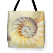 SeaShell. Light Version Tote Bag by Jenny Rainbow