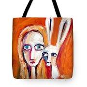 Seeking Tote Bag by Leanne Wilkes