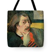 Self Portrait Tote Bag by Paul Gauguin