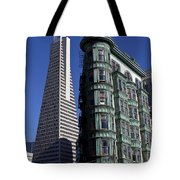 Sentinel Building San Francisco Tote Bag by Garry Gay