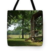 Settlers Cabin Arkansas 2 Tote Bag by Douglas Barnett