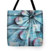 Shades Of Fibonacci Tote Bag by Hakon Soreide