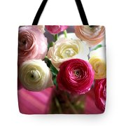 Shades Of Pink Tote Bag by Kathy Yates