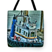 Shaman Tug-HDR Tote Bag by Randy Harris