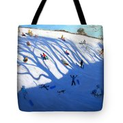 Shandows On A Hill Monyash Tote Bag by Andrew Macara