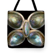 Shell - Conchology - Devine Pearlescence Tote Bag by Mike Savad