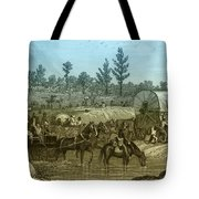 Shermans March Through Georgia Tote Bag by Photo Researchers