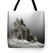 Shiprock Mountain Four Corners Tote Bag by Jack Pumphrey